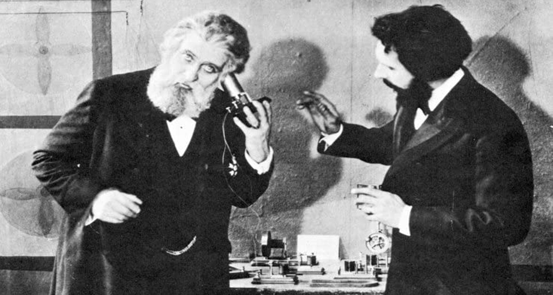 Alexander Graham Bell and Don Pedro