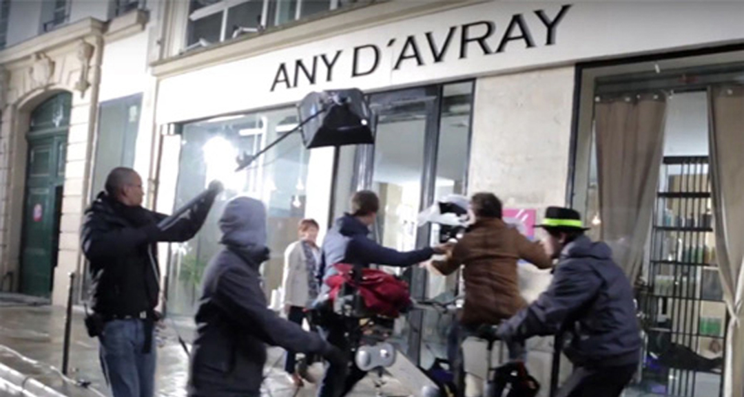 shooting of the Any d Avray TV Commercial
