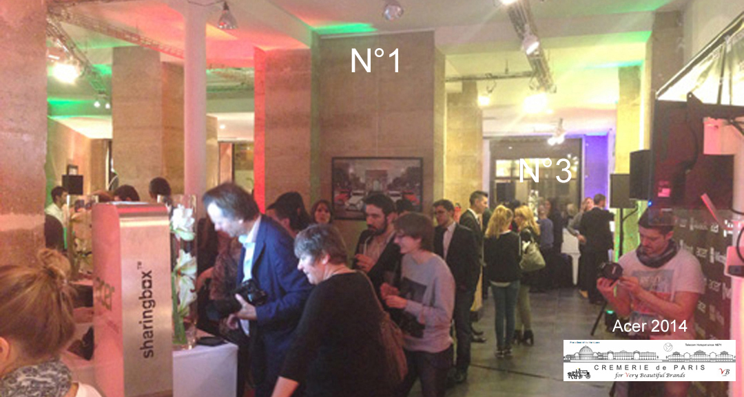 Acer Pop Up Store at Cremerie de Paris N°1