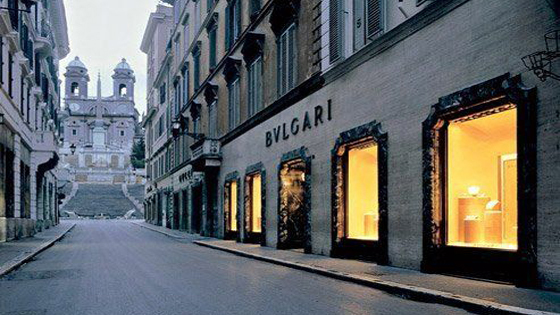 Bulgari historic flagship store