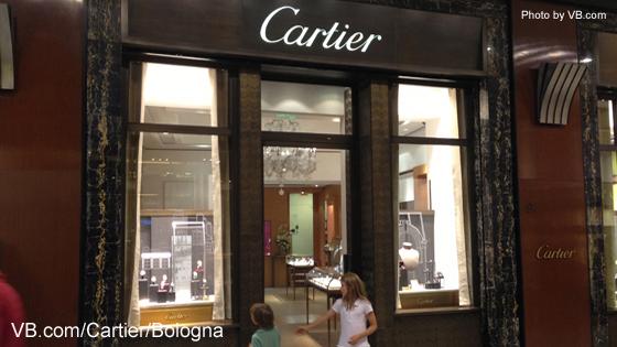 Cartier boutique bologna by for Boutique bologna