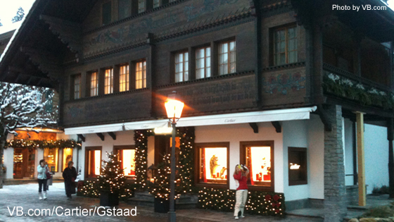 Cartier Store Gstaad, Chalet La Rocaille
