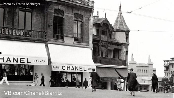 historic Boutique Chanel Biarritz, 2 avenue Edouard VII