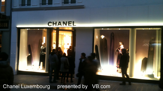 Boutique Chanel Luxembourg