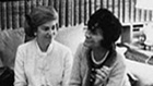 Coco Chanel in 1966 with Marie Helene de Rothschild