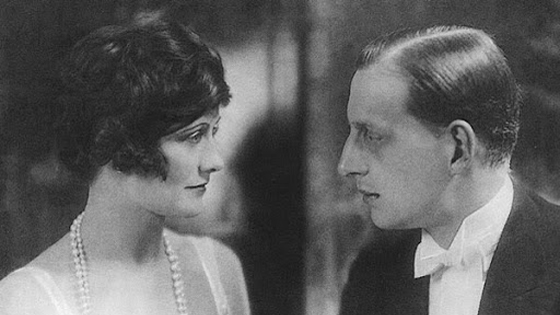 Coco Chanel with her lover Dmitri Romanov