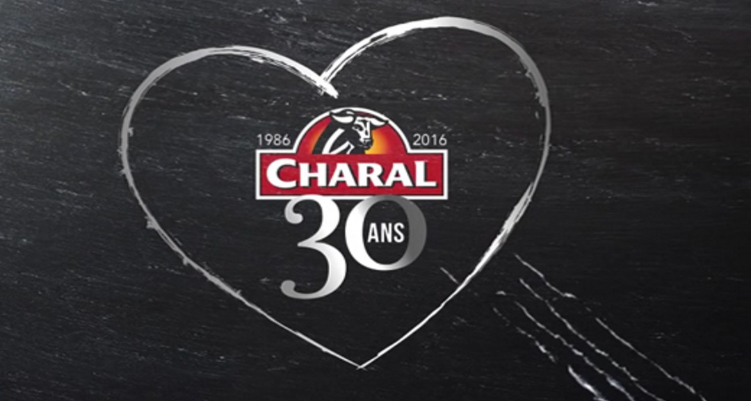 logo Charal 30 years