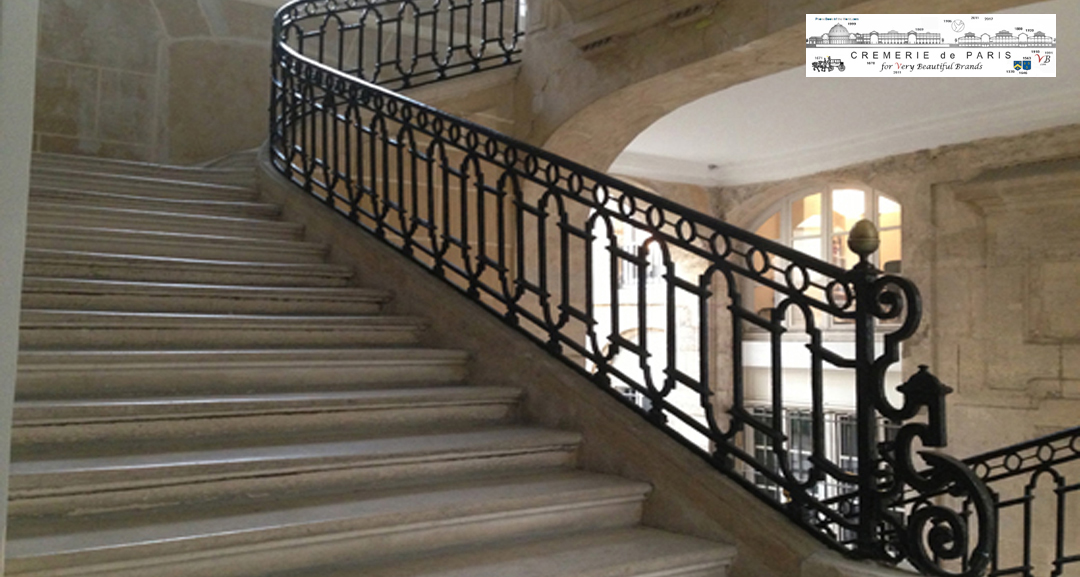 historic Cremerie de Paris staircase