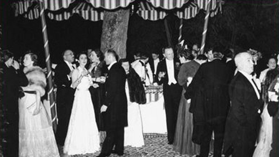guests of the Circus Ball