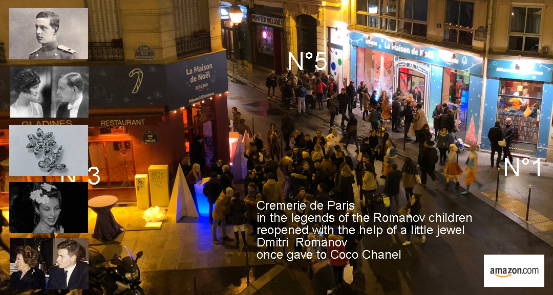 Cremerie de Paris Pop Up Store