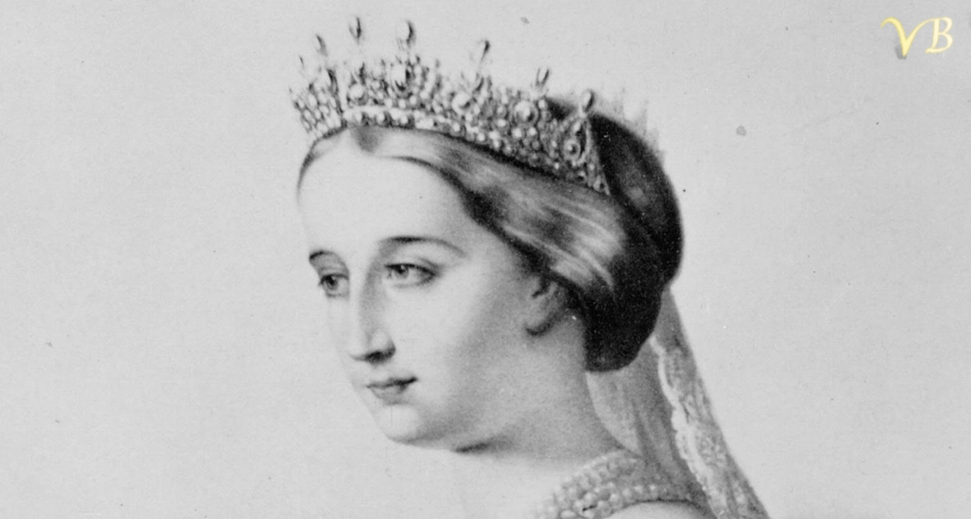 photo of Empress Eugenie with her tiara