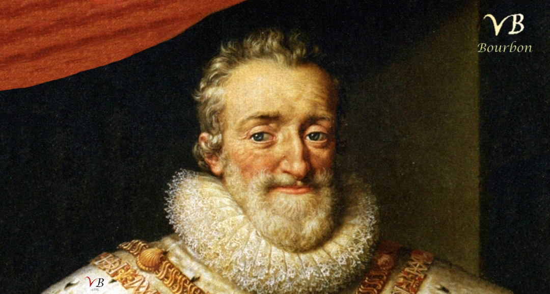 Henri IV, first Bourbon King of France