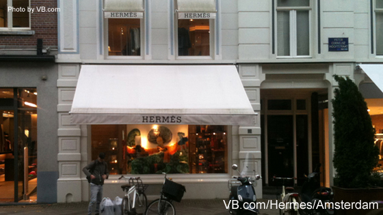 Hermes Boutique Amsterdam