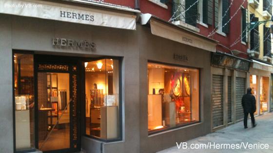 Hermes Store Venice By Vb Com