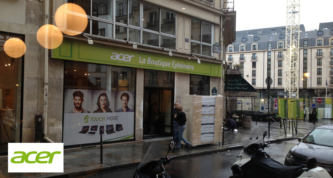 Acer Pop Up Store