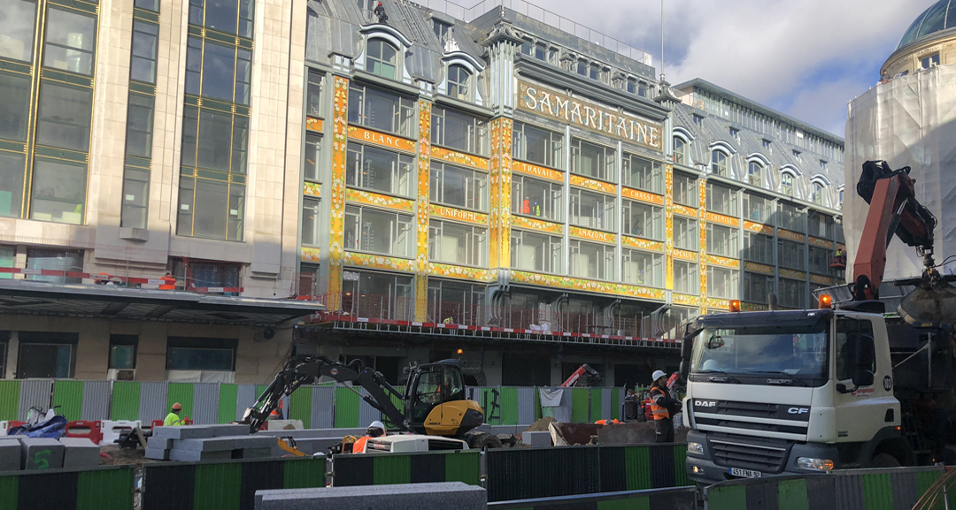 Samaritaine proparing to reopen