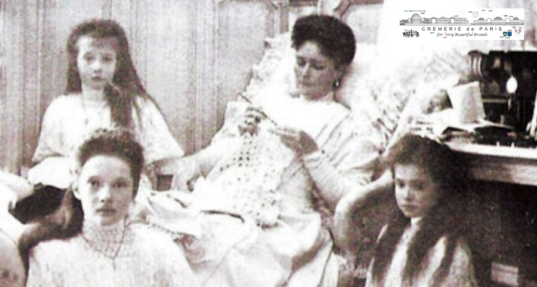 Tsarina with her daughters