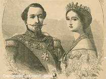 Emperor Napoleon III and Emperess Eugenie