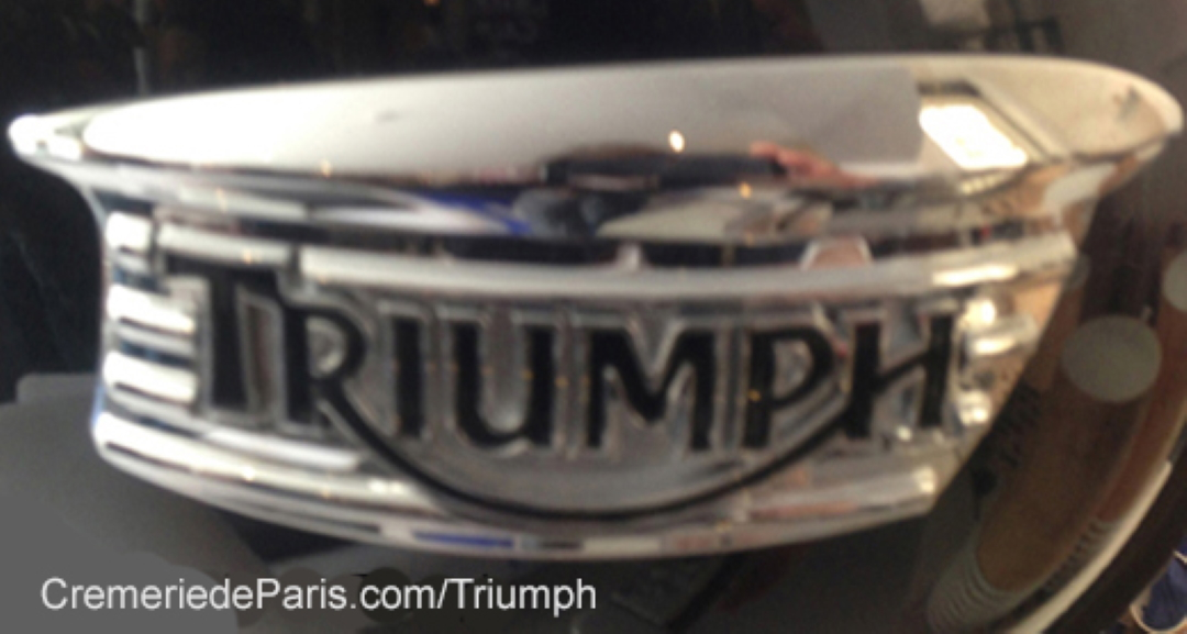 Triumph Pop Up Store at Cremerie de Paris
