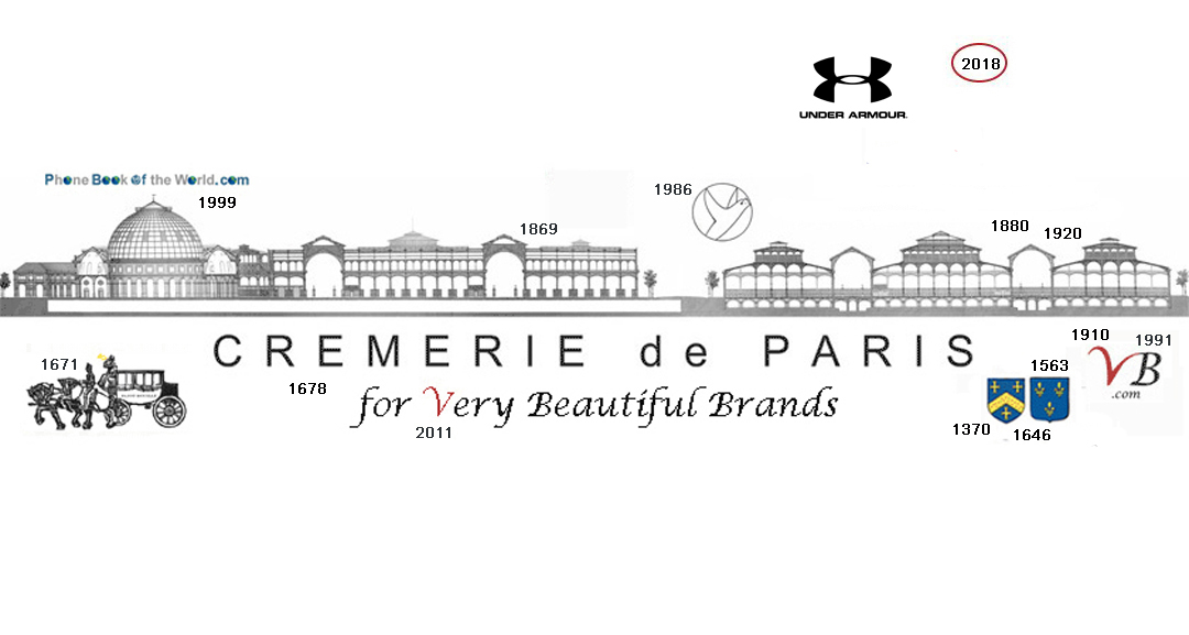 Under Armour in the history of the Cremerie de Paris