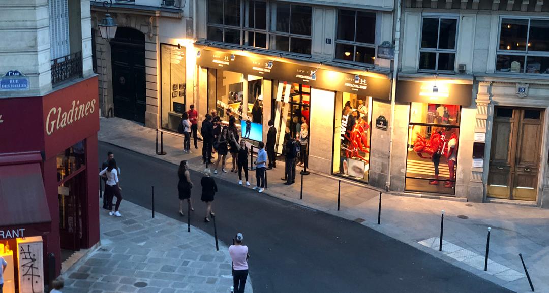 under armour boutique paris